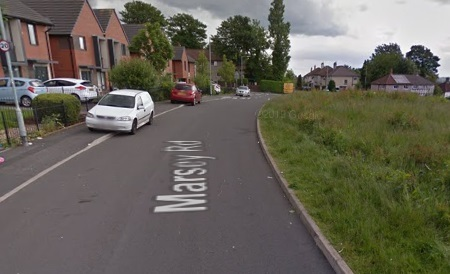 Taxi driver attacked by passenger on Marsey Road, Breightmet, before crashing into tree