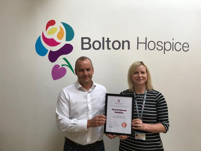 Andrew Rosler is a patron of Bolton Hospice