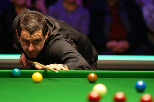 Ronnie O'Sullivan is a three-time winner of the Champion of Champions snooker