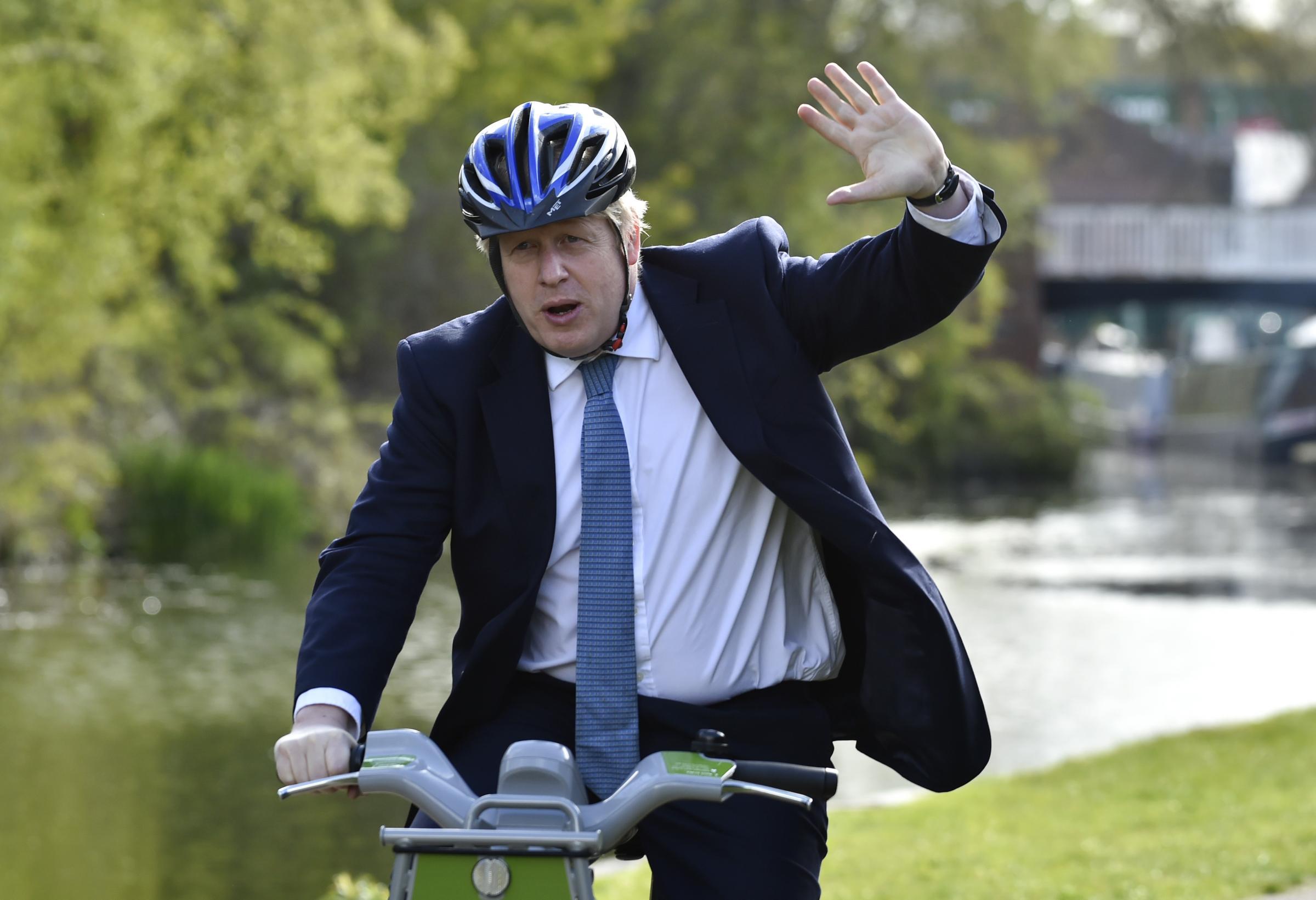 Bolton skip company's great response to Boris flat row
