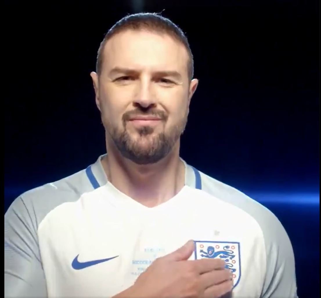Paddy gets support from former England boss ahead of SoccerAid