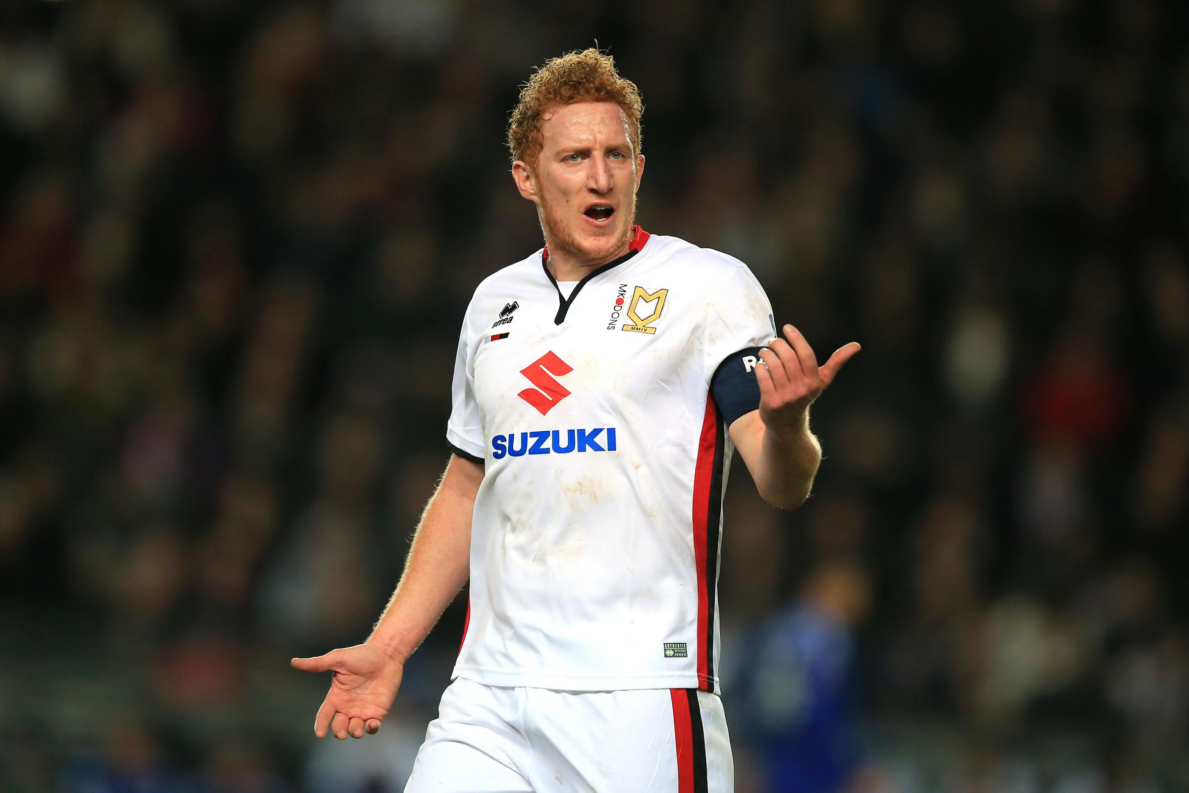 What MK Dons' Dean Lewington said about Bolton Wanderers draw