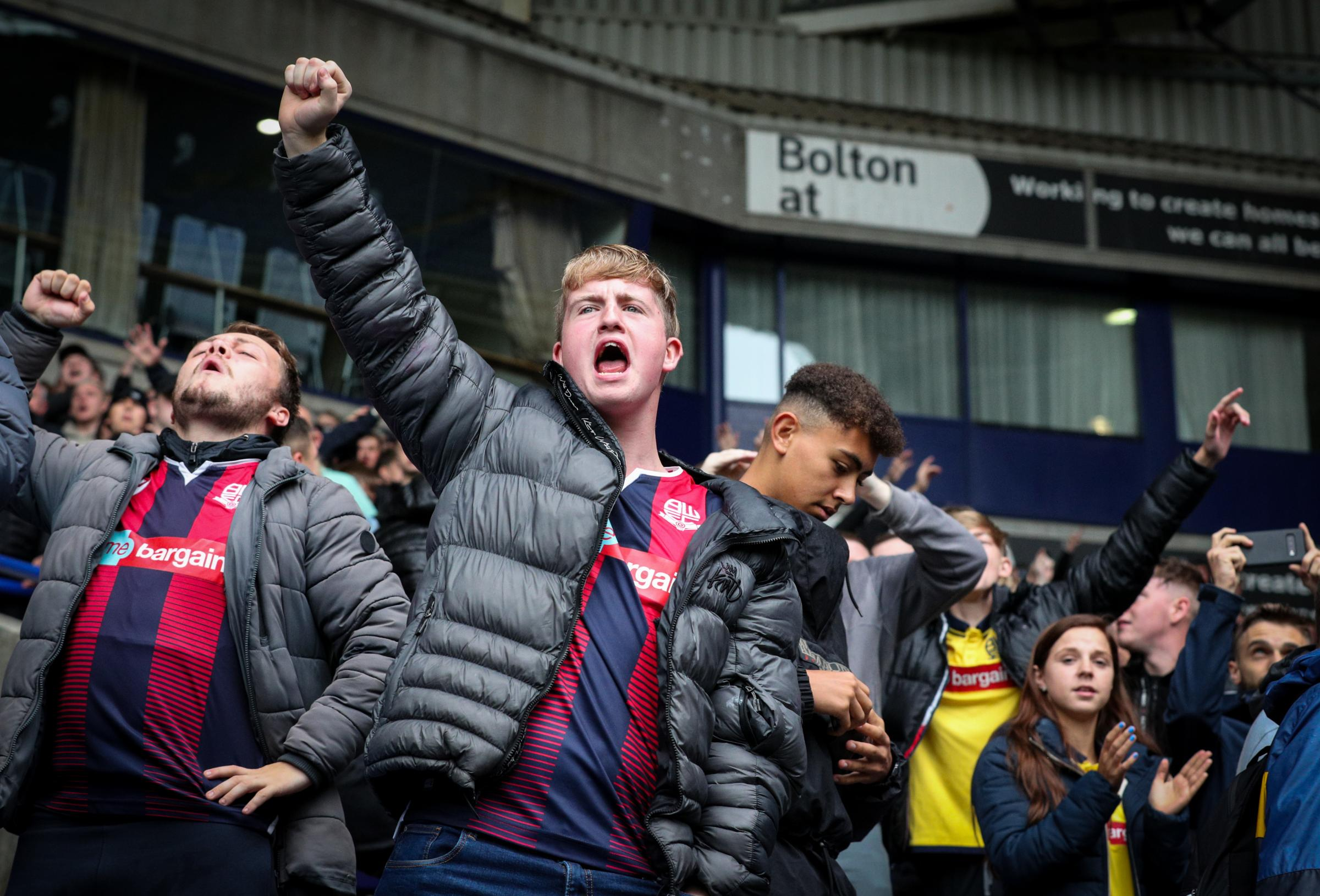 Bolton Wanderers' 3-3 League One draw with MK Dons in pictures