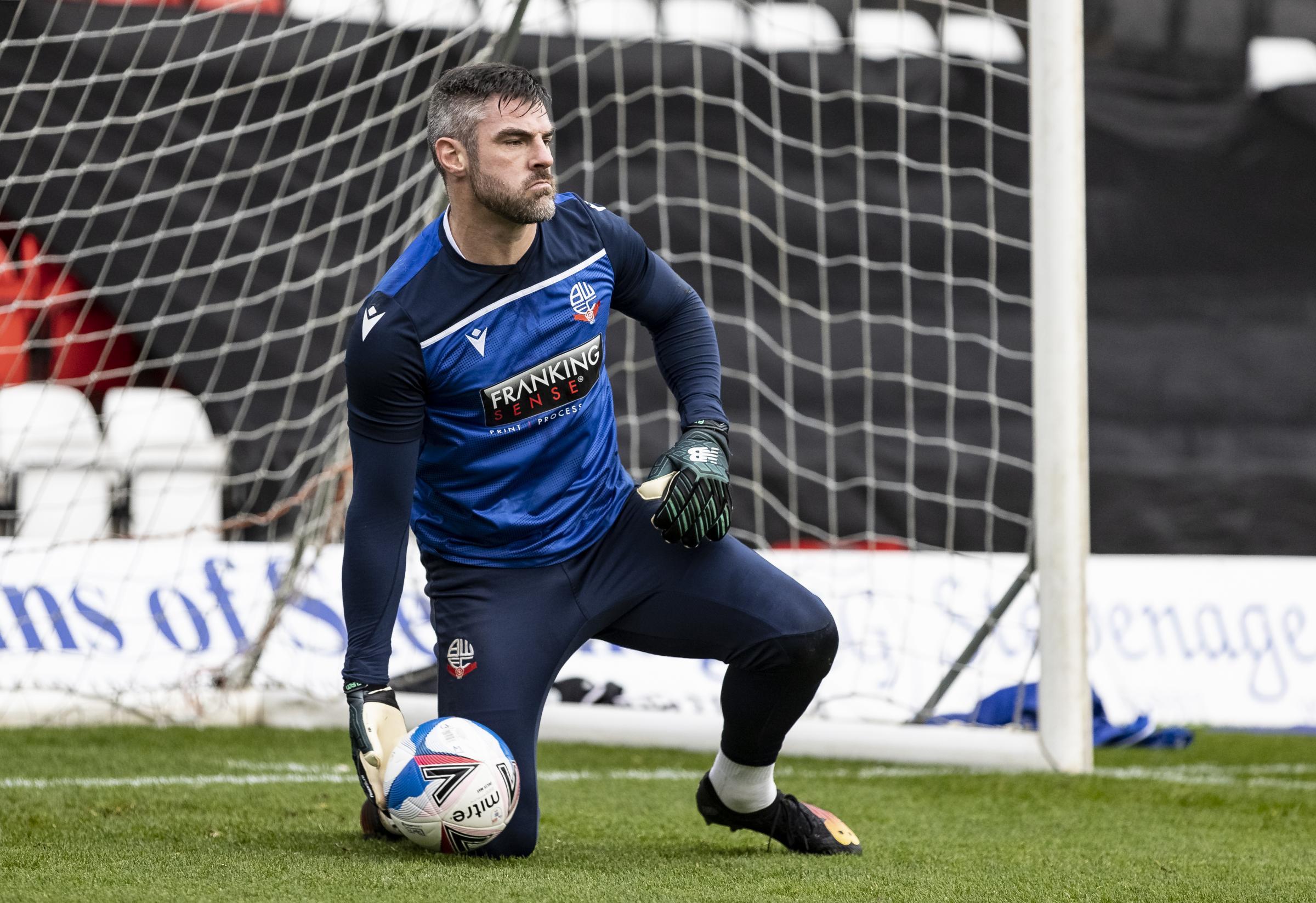 Bolton Wanderers boss Ian Evatt vows to stand-by under-fire keeper Matt Gilks