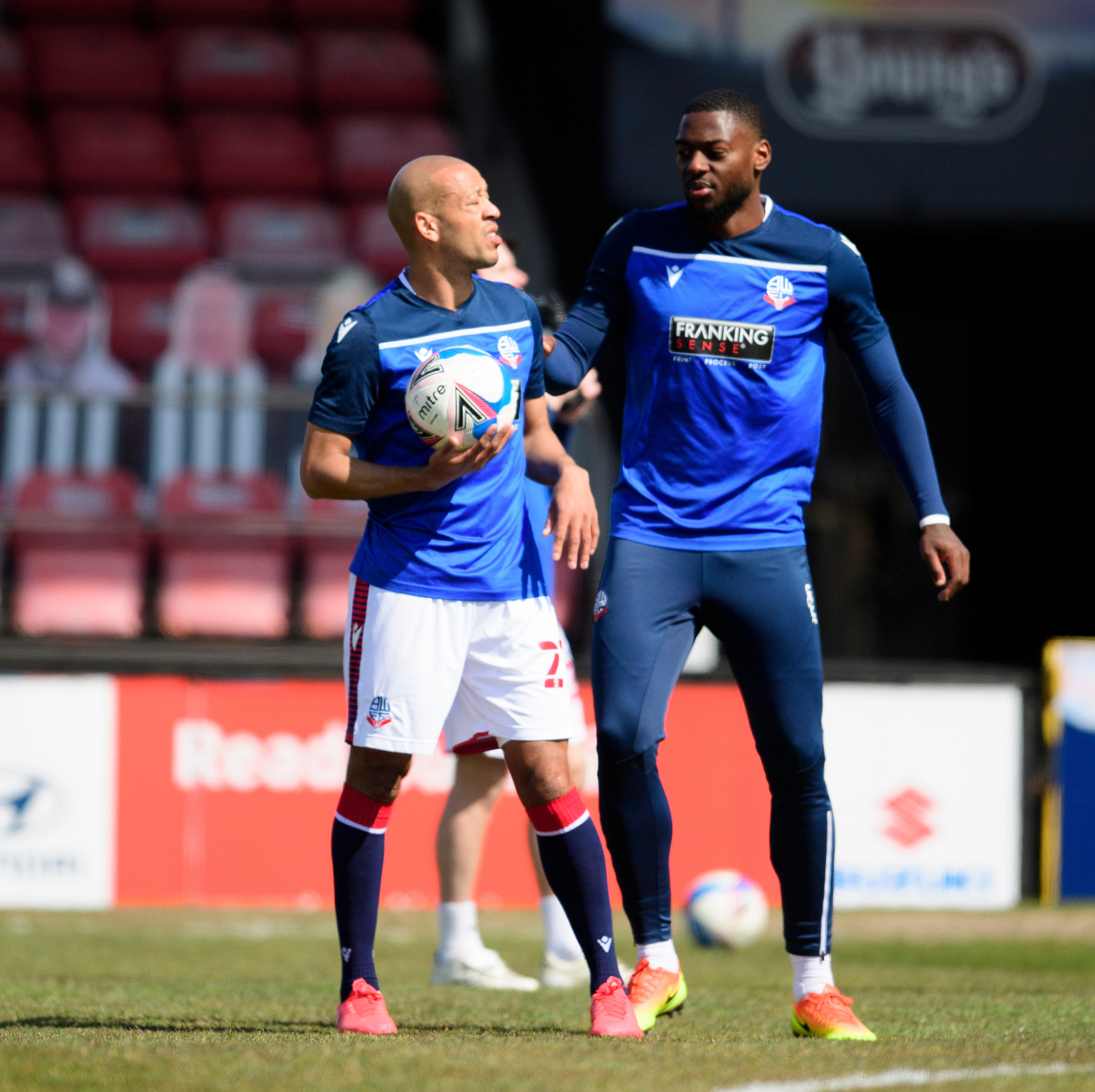 Bolton Wanderers' Alex Baptiste says Ricardo Santos can be best defender in League One