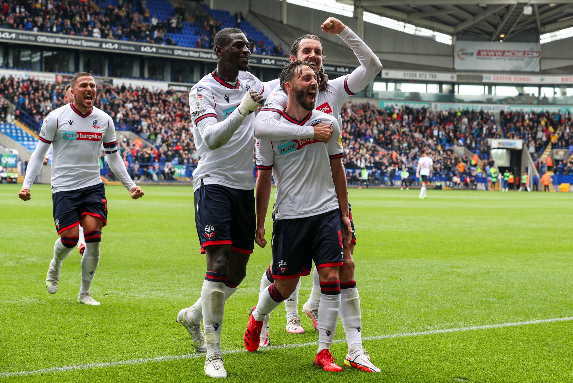 Bolton Wanderers' predicted line-up for Barnsley Carabao Cup clash