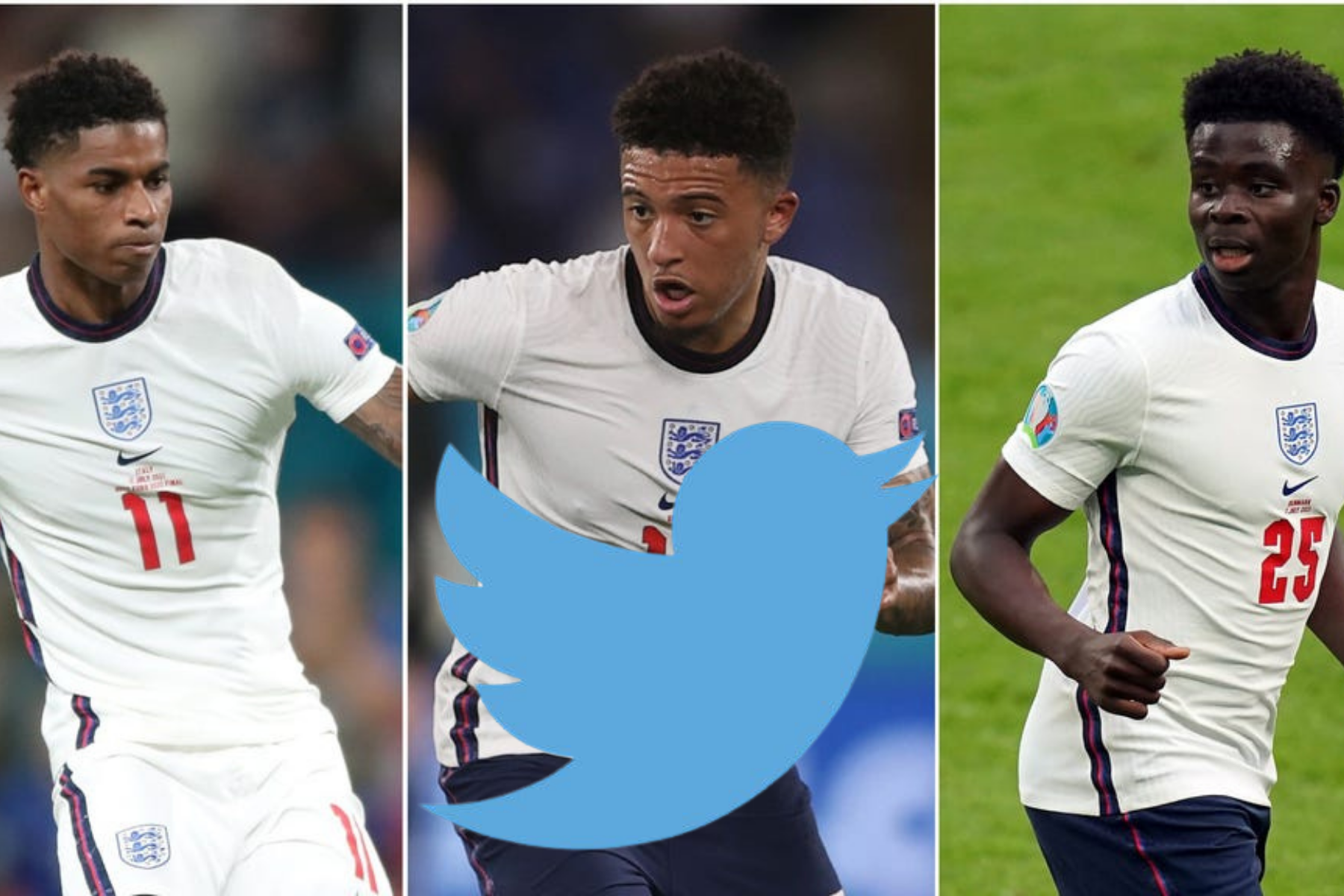 Twitter breaks silence on racist abuse of England players at Euro 2020