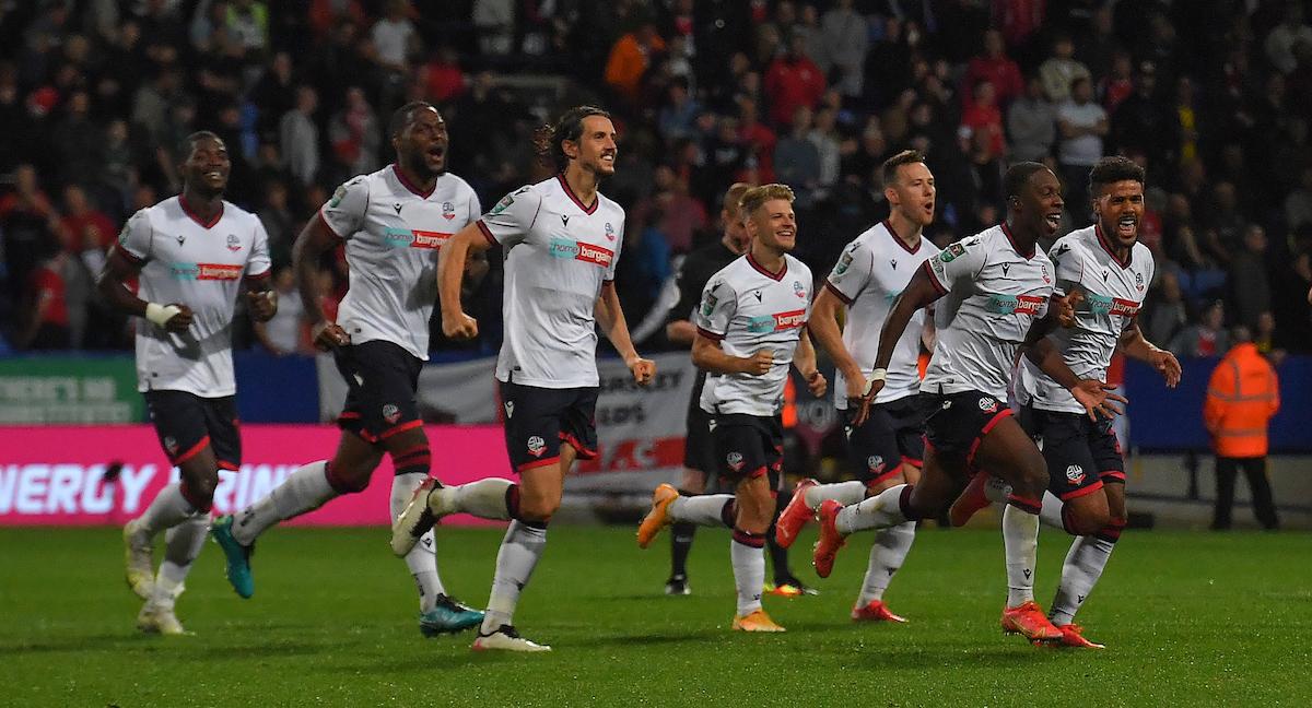 Bolton Wanderers boss reveals harsh words in penalty win against Barnsley