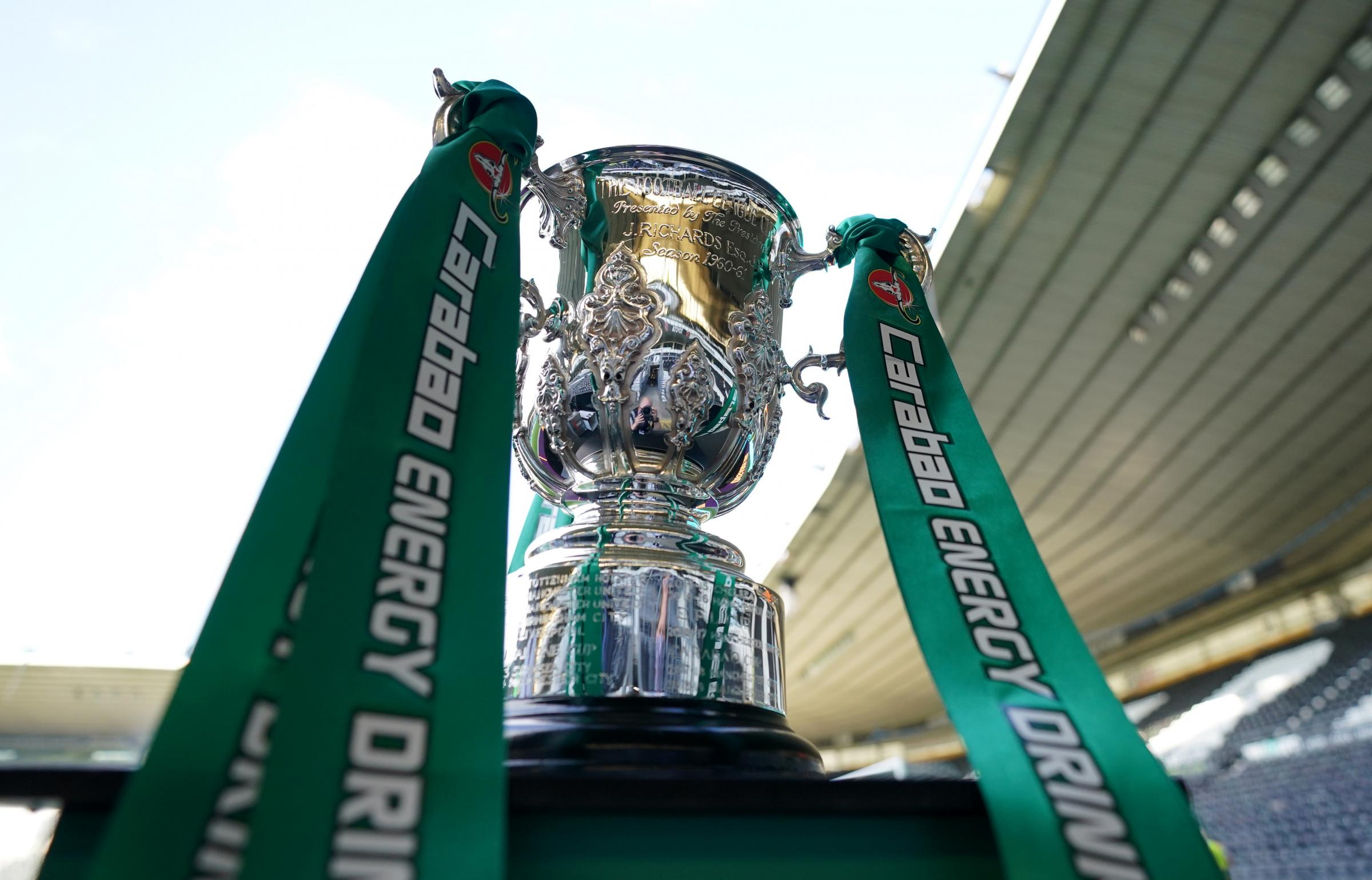 When does the Carabao Cup second round draw take place?