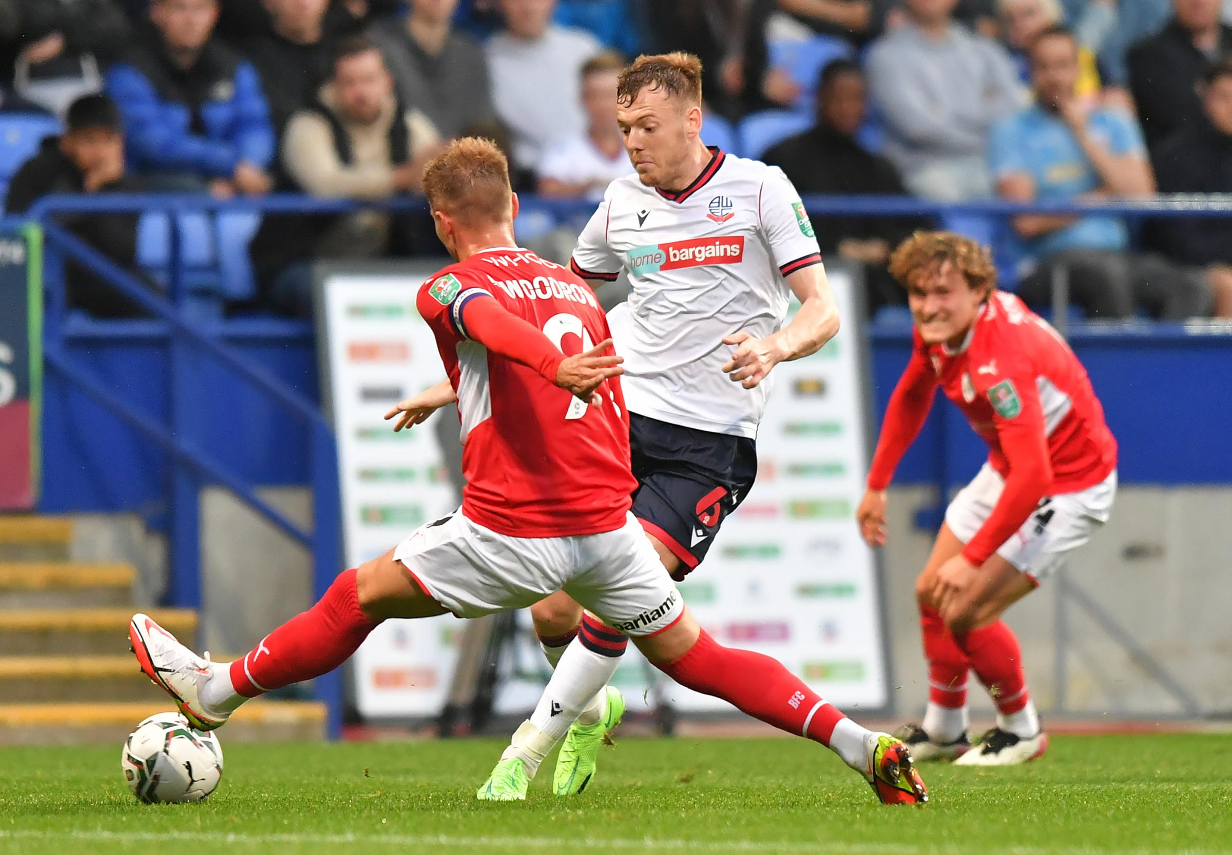 Bolton Wanderers' Carabao Cup win over Barnsley in pictures