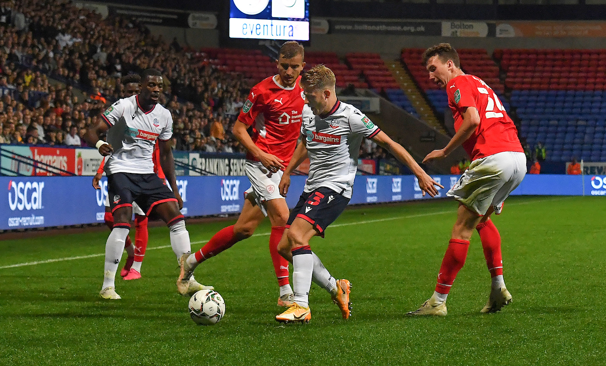 Bolton Wanderers' players marked out of 10 for Barnsley Carabao Cup display