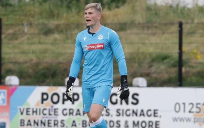 Bolton Wanderers' Luke Hutchinson enjoying life at Atherton Colls