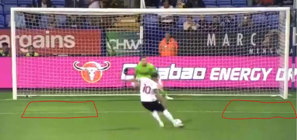 Bolton Wanderers' mysterious goalmouth squares, explained