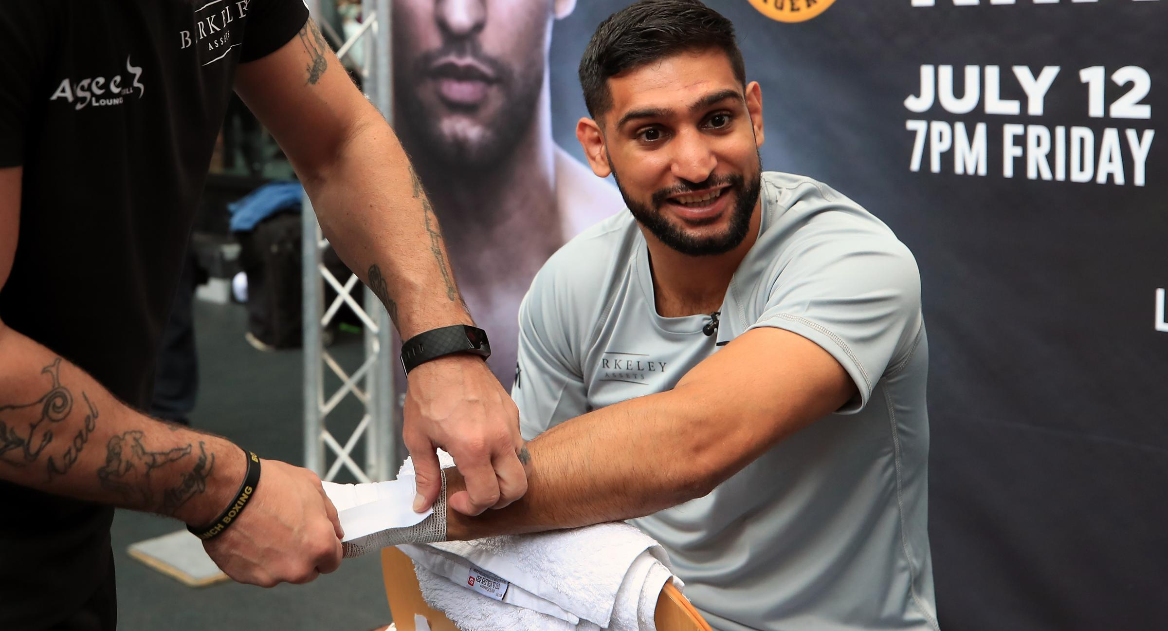 The state of play with Amir Khan's fight against Kell Brook