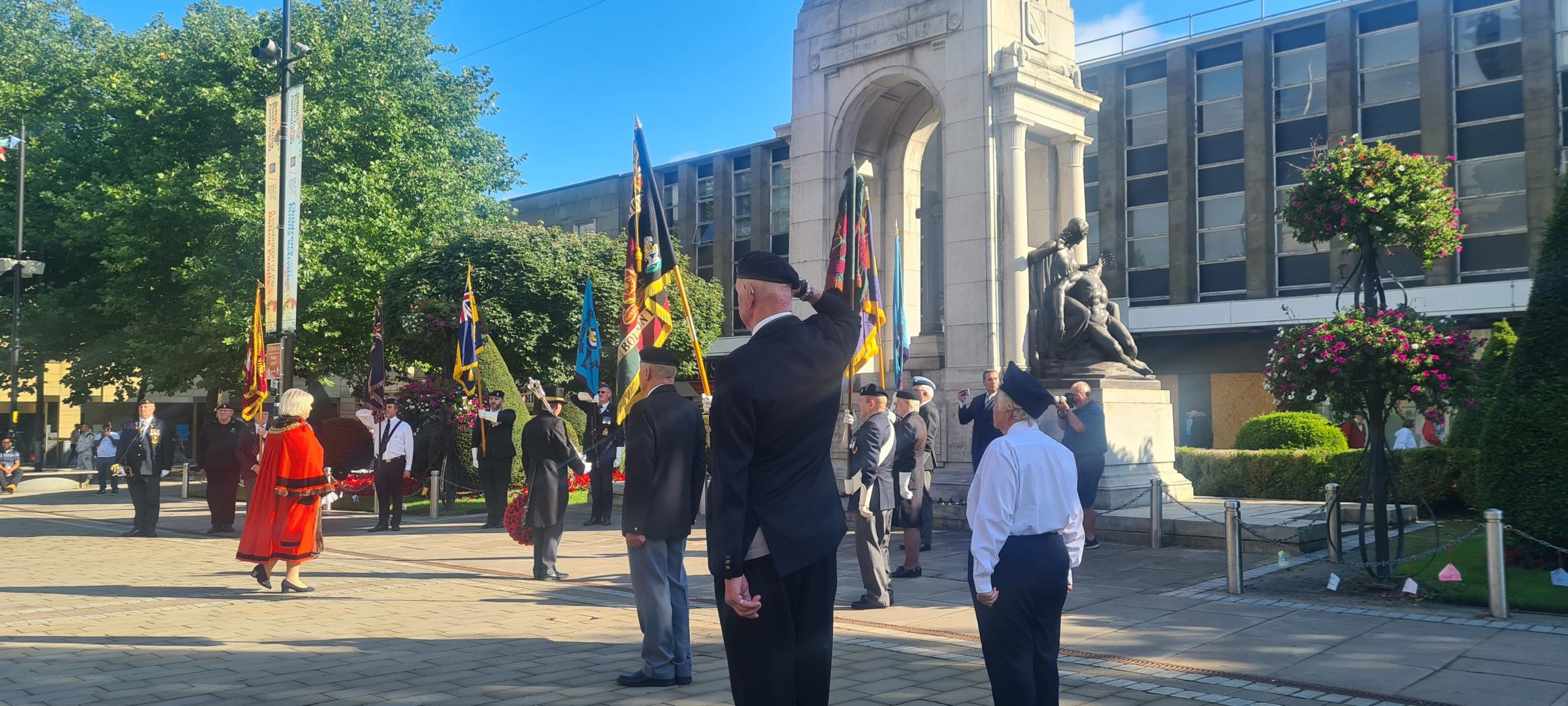Bolton commemorates the 81st anniversary of the Battle of Britain.