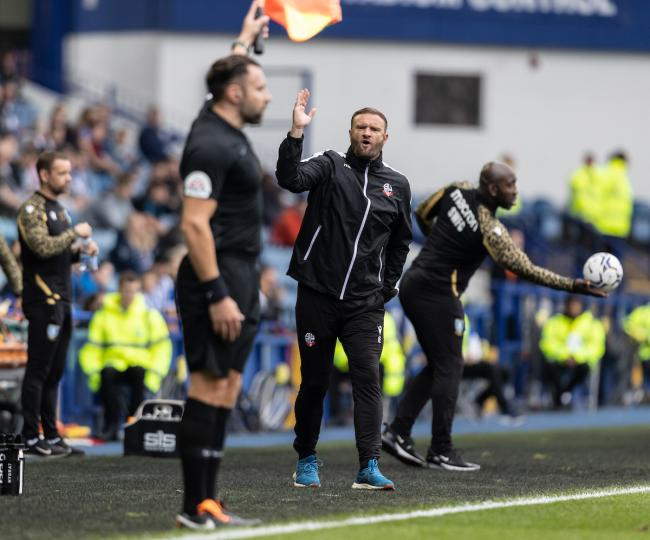 Ian Evatt on 'costly' referee decision in Sheffield Wednesday defeat 13087460
