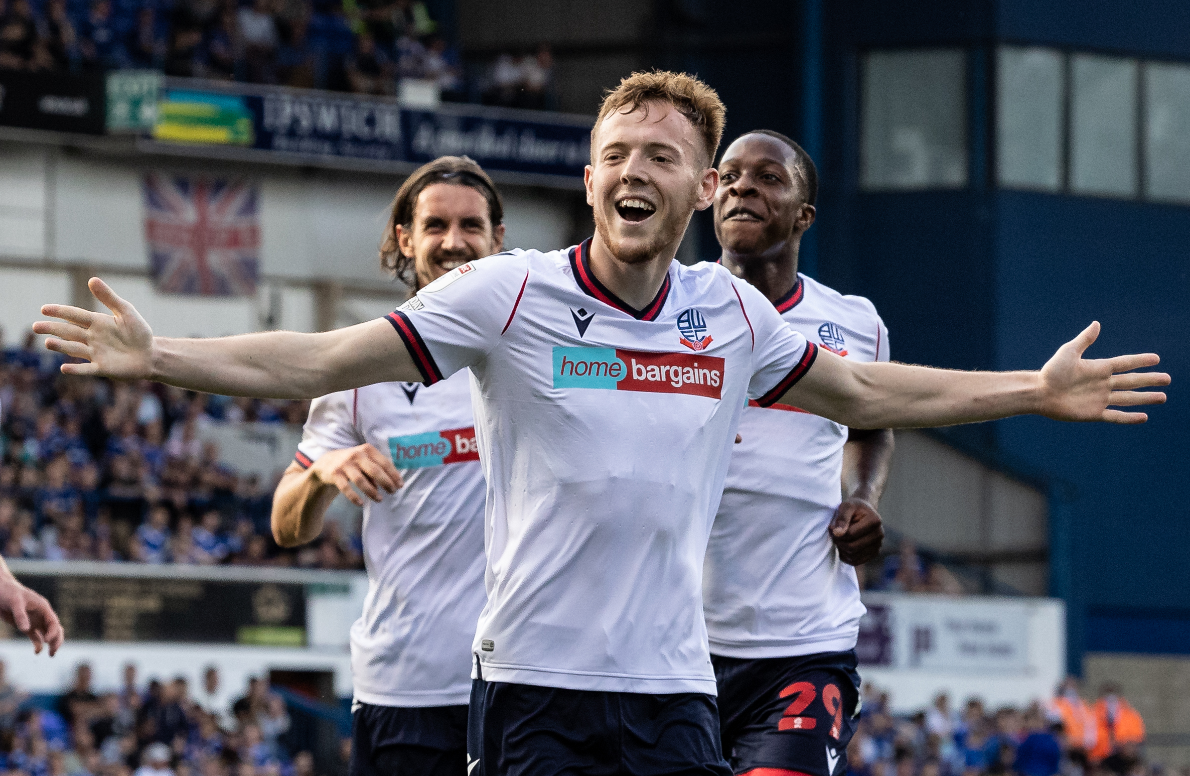 Bolton Wanderers defender George Johnston can't wait to face Wigan Athletic