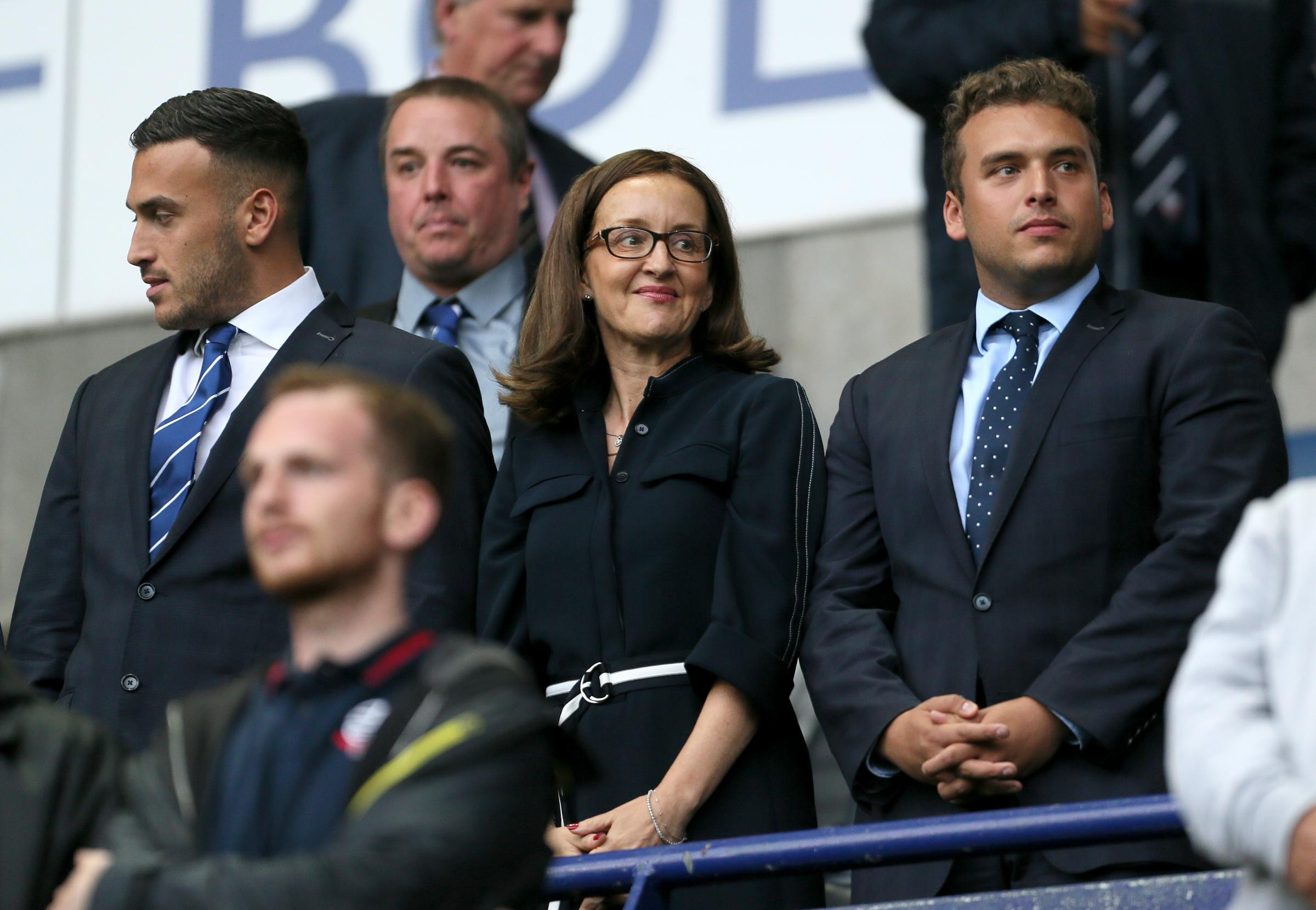 Sharon Brittan's message for Bolton Wanderers fans ahead of Wigan Athletic clash