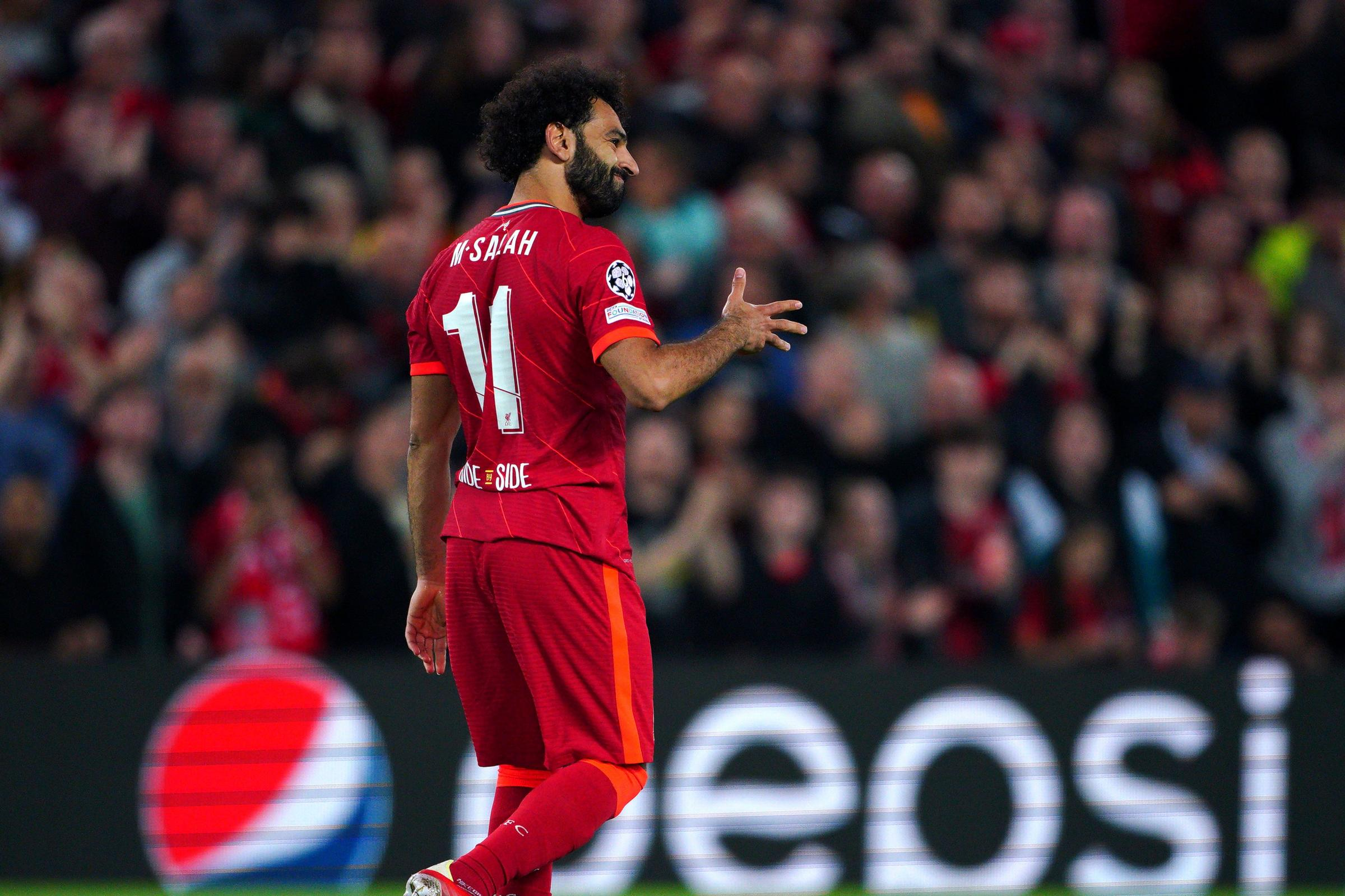 Mohamed Salah focused on winning at Liverpool amid contract speculation