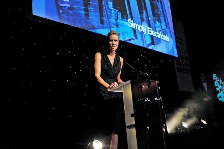 CELEBRITY HOST: Dianne Oxberry of BBC North West