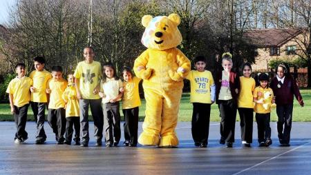 All the action from Children In Need in Bolton in 2010