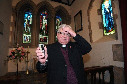 "Rottingdean rev's warning after ""Staying Alive"" funeral blunder"