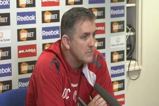 The Bolton News: Press conference with Bolton Wanderers manager Owen Coyle ahead of their Premier League match against Chelsea