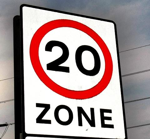 Town centre is on its way to becoming a 'go-slow' zone