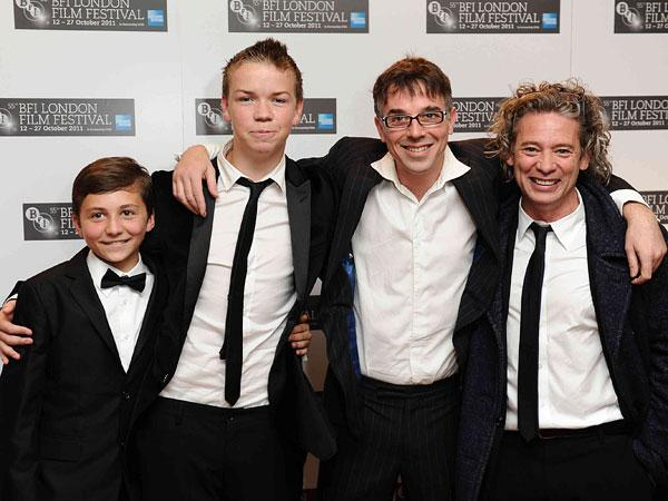 Wild Bill team: Sammy Williams, Will Poulter, Charlie Creed-Miles and director Dexter Fletcher