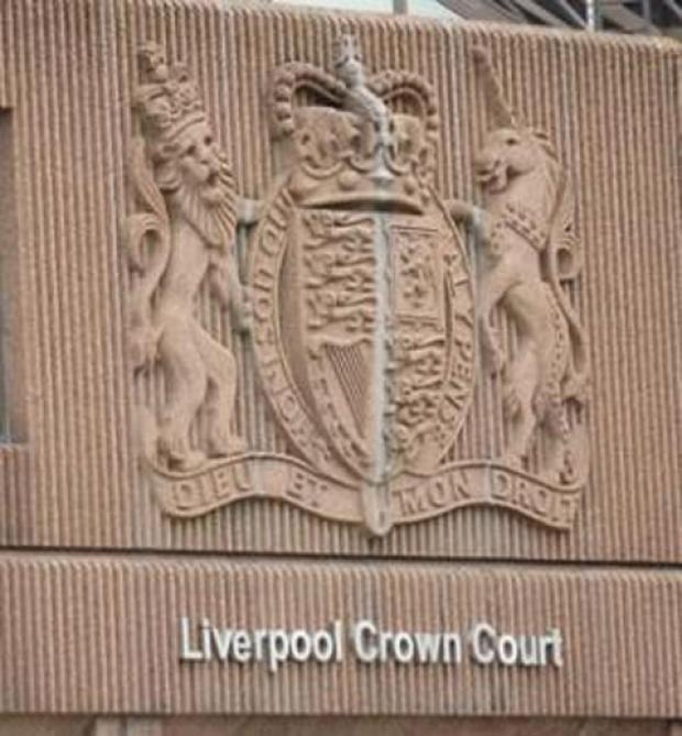Stephen Johnson, who appeared in the dock at Liverpool Crown Court on crutches last Wednesday, admitted the attempted robbery of cash but denied possessing a knife