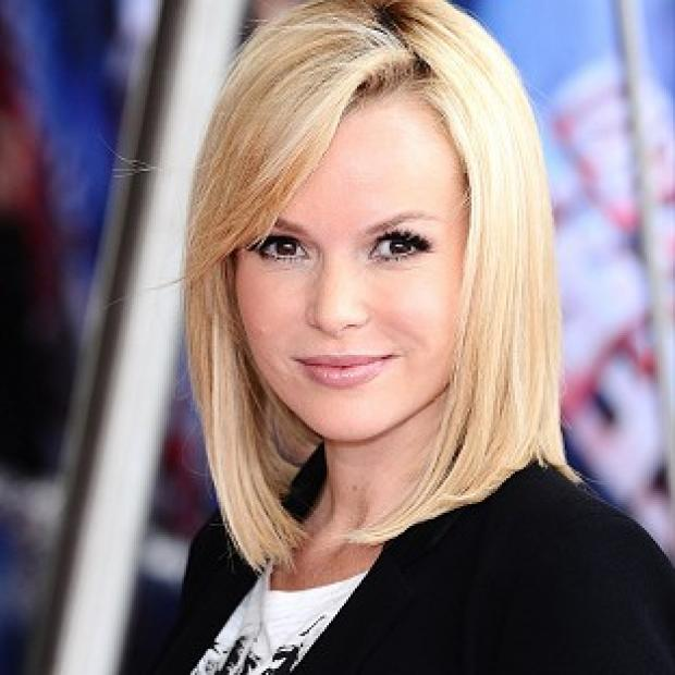 Amanda Holden hit back at claims she had fallen out with Alesha Dixon