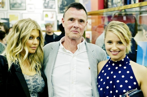 BIG TIME John Tierney with Fergie, from the Black Eyed Peas  and actress Dianna Agron