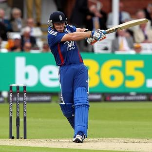 England's Ian Bell bats during the