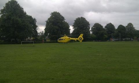 ATTENTION The Air Ambulance
