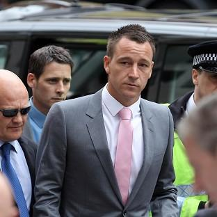 Chelsea captain John Terry arrives at West