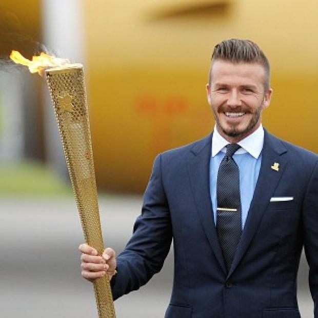 David Beckham has been one of the more high-profile supporters of London 2012