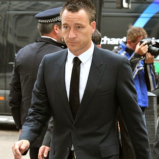 Terry 'angry' at racism accusation