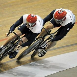 Sir Chris Hoy, right, has backed the selection of Jason Kenny for the individual sprint