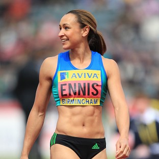 Jessica Ennis is not bothered by the weight of expectation upon her