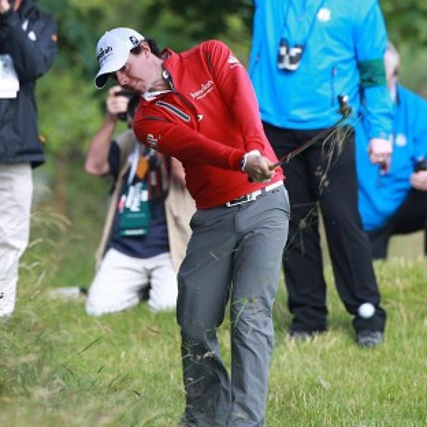 Rory McIlroy had a lucky break at Royal Lytham