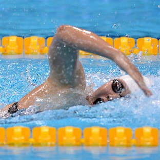 Ye Shiwen, pictured, won gold in the 400m medley as Hannah Miley came fifth