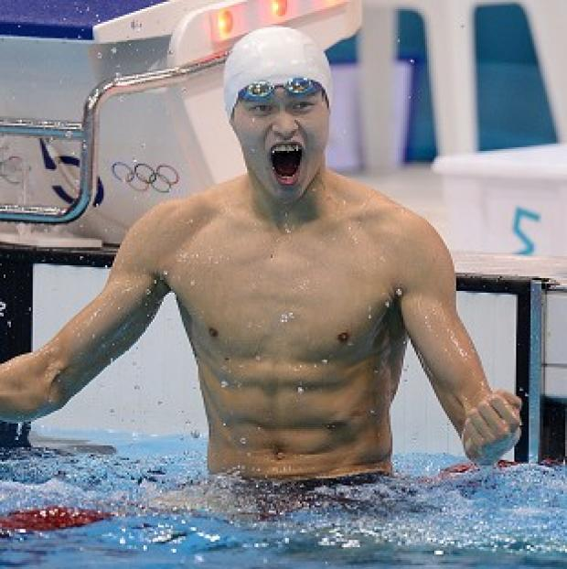 China's Sun Yang has won gold in the 400m freestyle