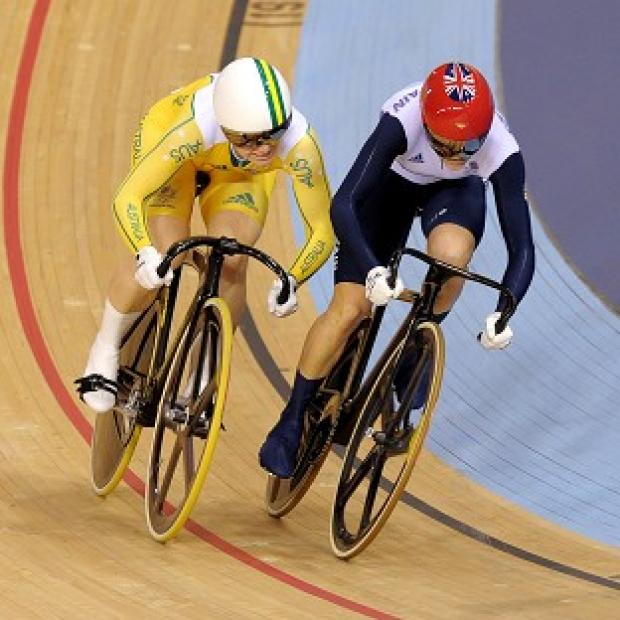 Victoria Pendleton, right, was beaten to the gold medal by Anna Meares