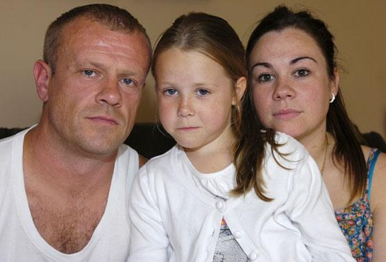 Parents claim it took doctors months to diagnose daughter's brain tumour