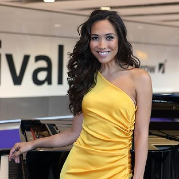 Myleene Klass is to host Miss World at the weekend