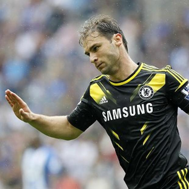 The Bolton News: Branislav Ivanovic's early strike set Chelsea on the way to victory