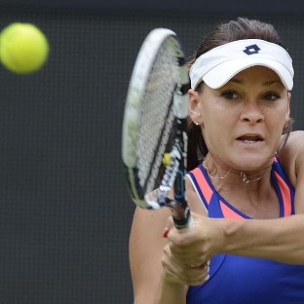 Agnieszka Radwanska dropped just two games in reaching the US Open second round