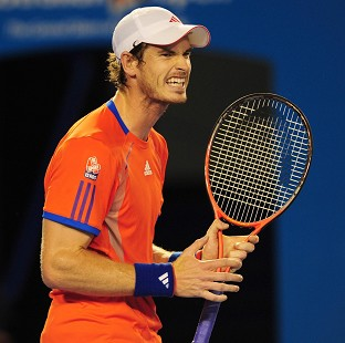 Andy Murray is into round three after a comfortable win