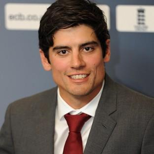 Alastair Cook was named England's new Test skipper at a press conference at Lord's