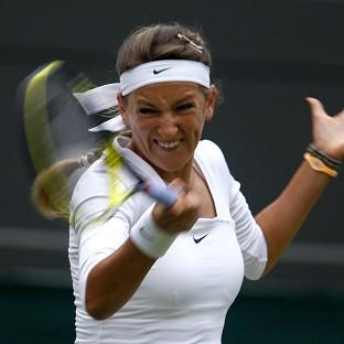 Victoria Azarenka looked to be in her best form making easy progress to the fourth round